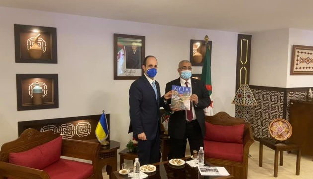 Ukraine, Algeria aim to intensify partnership in tourism sector