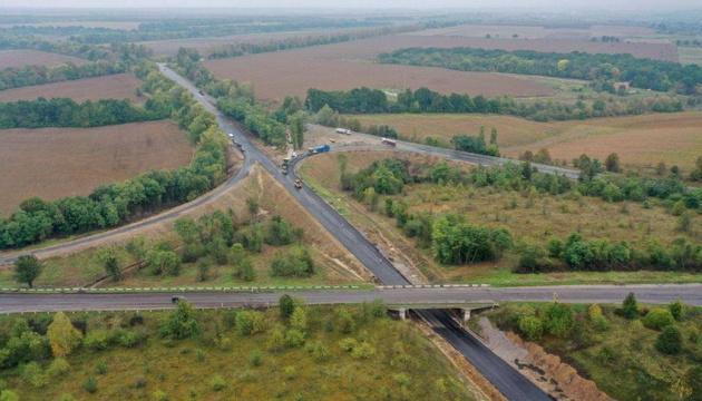 На Вінниччині завершили ремонт транспортної розв'язки на трасі М-21