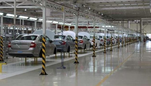 Автовиробництво в Україні зросло майже на 25%