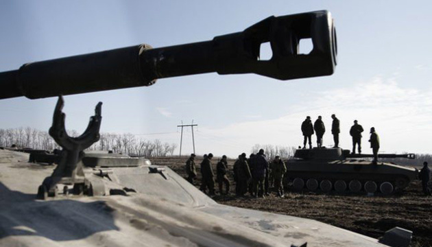 Occupiers pulling artillery and tanks to frontline in Donbas – intelligence