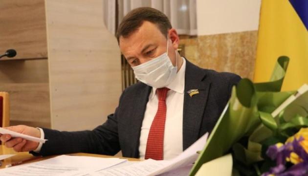 Петров написав заяву на звільнення з посади голови Закарпатської ОДА