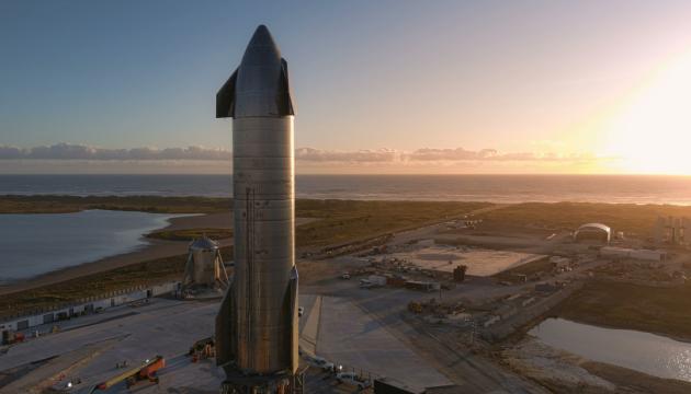Илон Маск запускает прототип межпланетного корабля Starship