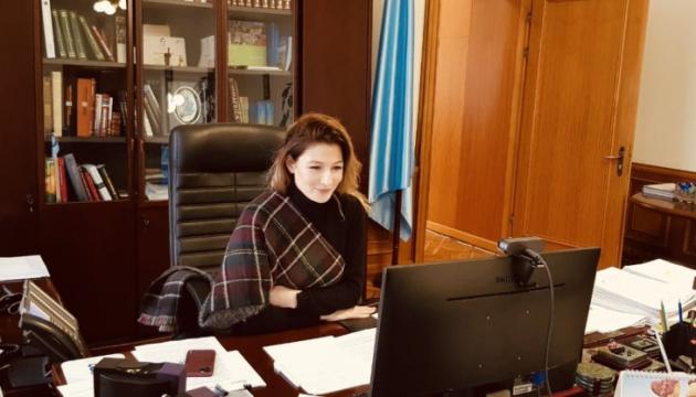 Dzhaparova invita a Suiza a unirse a la Plataforma de Crimea
