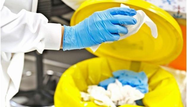Menos de la mitad de los desechos médicos se eliminan de forma segura en Ucrania