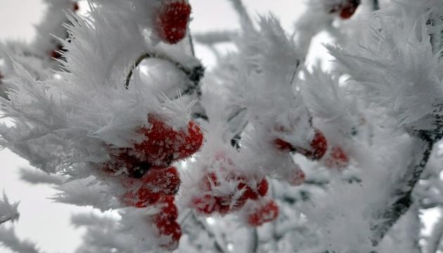 Сьогодні Україну «заморозить» до -25°