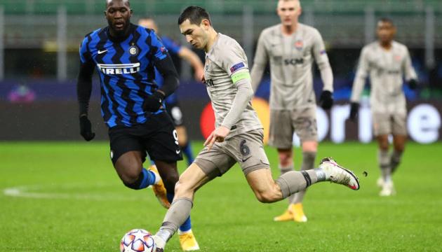 El Shakhtar empata ante el Inter y jugará en la UEFA Europa League