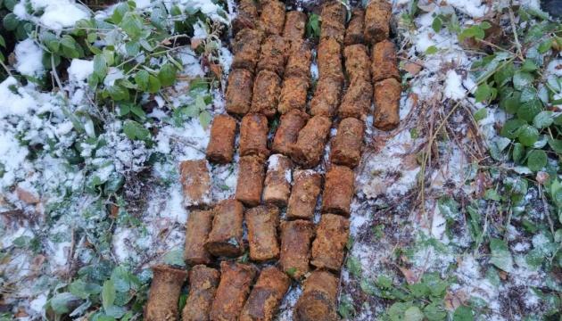 На Закарпатье уничтожили 38 боеприпасов времен Первой мировой, которые обнаружили туристы