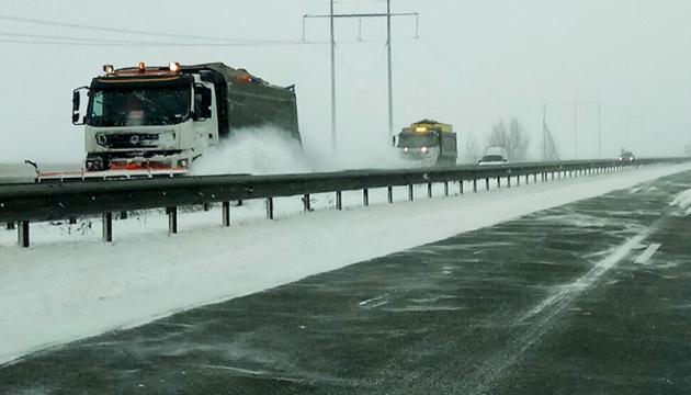 Unwetter: Verkehrseinschränkungen in drei Regionen der Ukraine