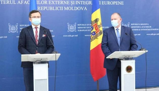 Ukraine, Moldova to work together on agenda of relations with EU - Kuleba