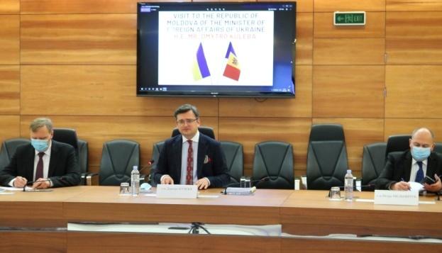 Kuleba: Estamos listos para abrir una nueva página en las relaciones entre Ucrania y Moldavia