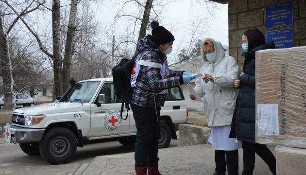 Лікарні Сєвєродонецька та Рубіжного отримали кисневі концентратори від Червоного Хреста