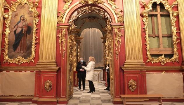 La Iglesia de San Andrés se abre después de la restauración