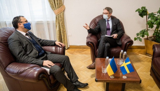 Ukraine, Sweden discuss preparations for January visit of OSCE Chairperson-in-Office to Kyiv