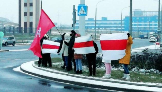 Правозахисники публікують імена затриманих на акції протесту в Білорусі