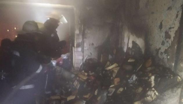 У Харкові вночі на пожежі у багатоповерхівці загинули двоє людей