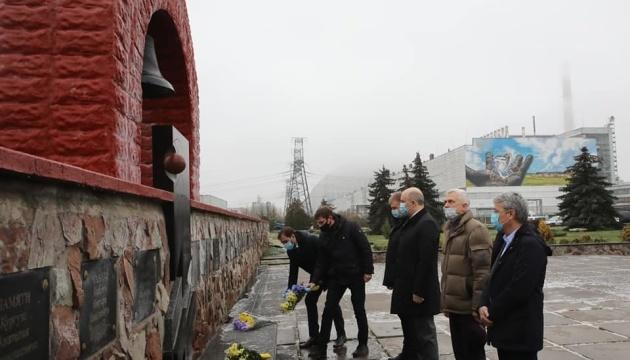 На Чорнобильській АЕС вшановують ліквідаторів аварії