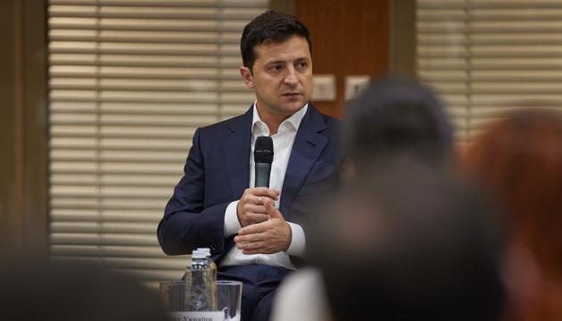 Zelensky habla de las ambiciones climáticas de Ucrania