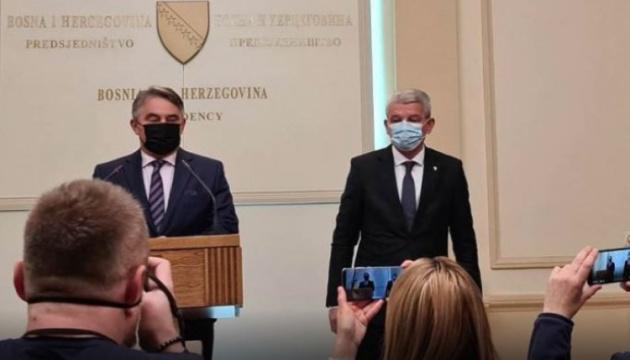 Очільники Боснії і Герцеговини бойкотували зустріч із Лавровим