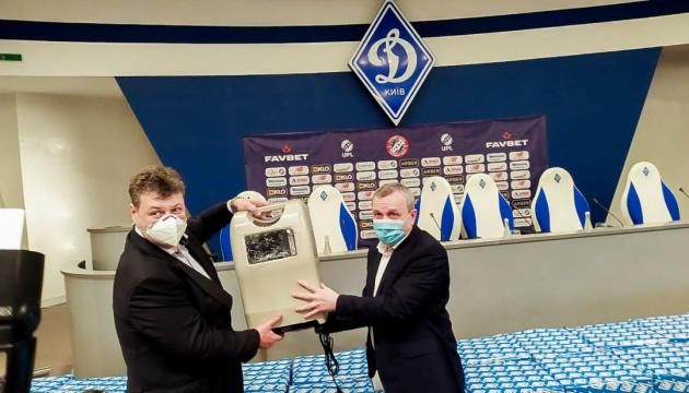 Житомирщина отримала кисневі концентратори від ФК «Динамо»