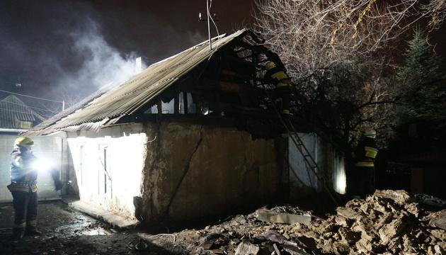 Dnipro : l'incendie d'une maison privée fait trois victimes