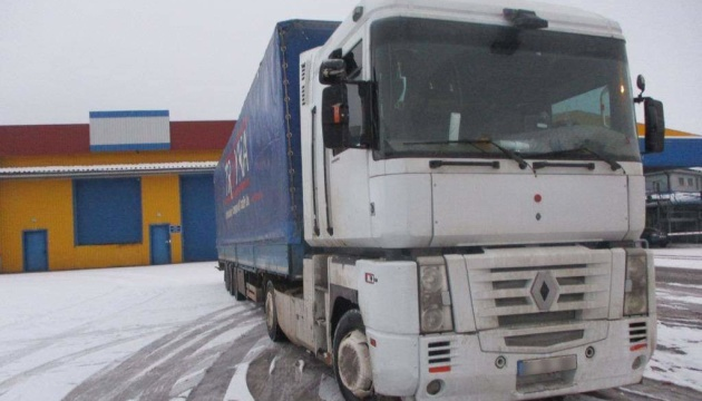 На кордоні з Росією затримали викрадену в Туреччині вантажівку
