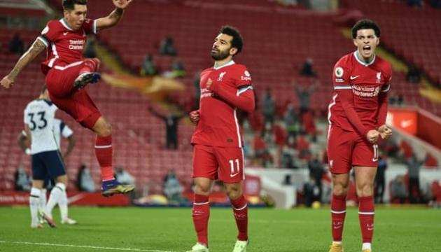 АПЛ: «Ліверпуль» обіграв «Тоттенгем» і вийшов на перше місце