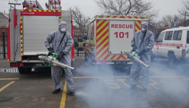ПРООН передала рятувальникам Донеччини обладнання для боротьби з COVID-19