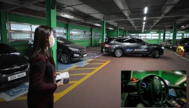 У Кореї показали першу в світі систему автономного паркування із 5G