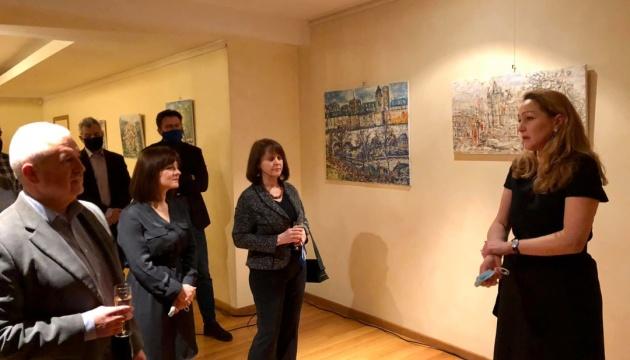 В Брюсселі показали картини української художниці