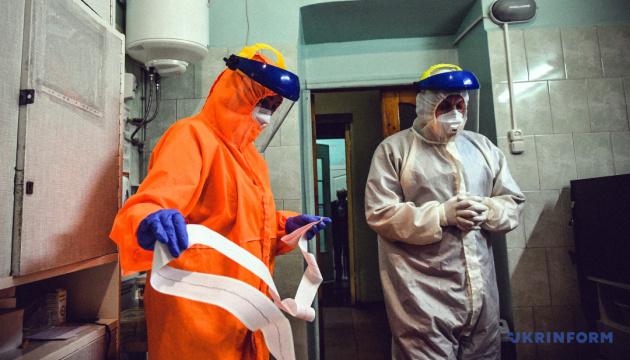 В Украине за сутки - 3370 случаев коронавируса