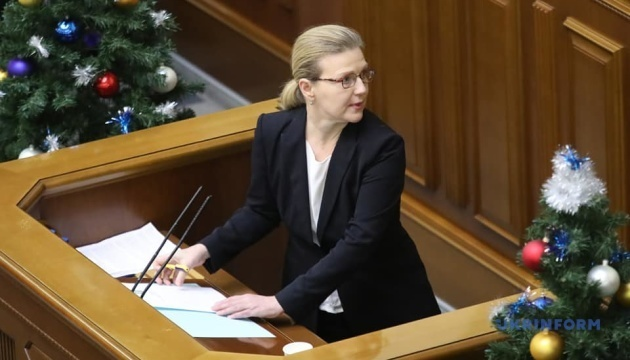 Laputina appointed as Ukraine's minister for veterans afffairs