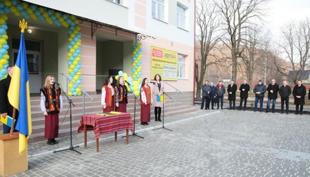 У Яремче відкрили корпус школи, який зводили з 2008 року