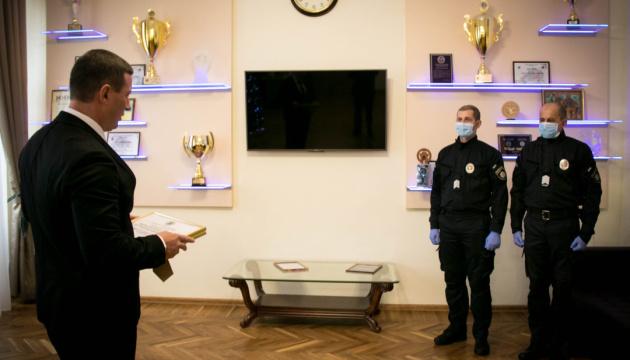 У Херсоні нагородили поліцейських за розкрите вбивство екскореспондента Укрінформу