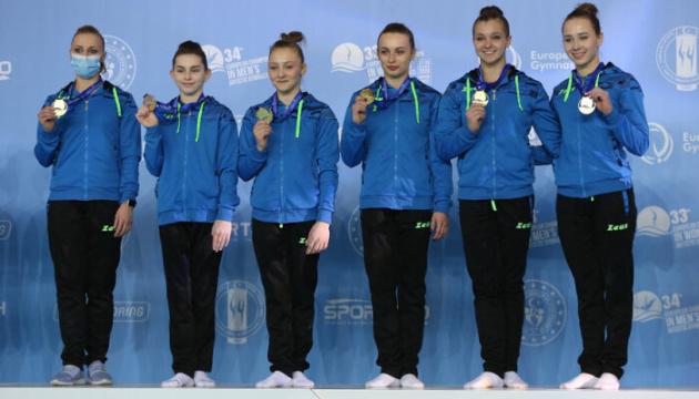 Жіноча збірна України – чемпіон Європи зі спортивної гімнастики