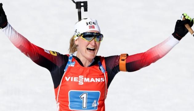 Ройселанд виграла масстарт на IV етапі Кубка світу з біатлону; Блашко - 23-я