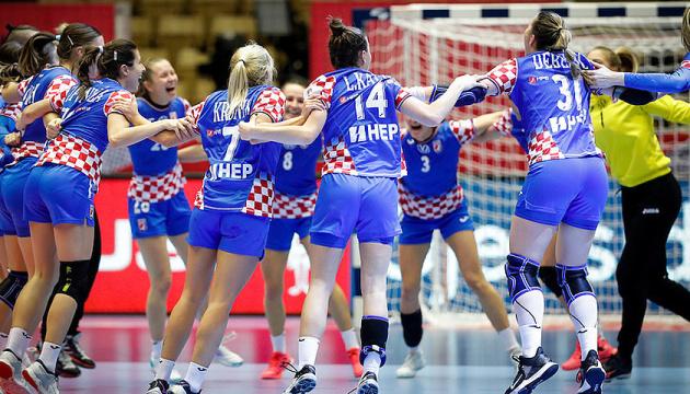 Хорватія вперше стала призером жіночого чемпіонату Європи з гандболу