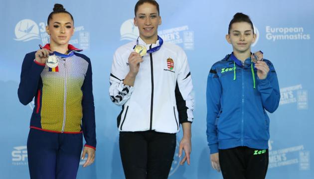 Украинские гимнастки выиграли три «бронзы» на чемпионате Европы