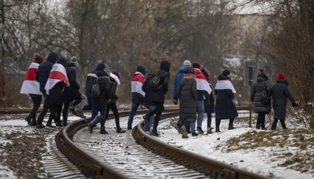МВС Білорусі створило базу учасників акцій протесту