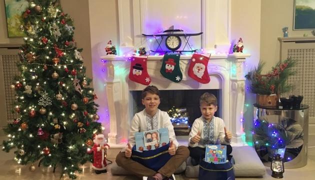 Українське Посольство в Азербайджані привітало дітей зі святом Миколая