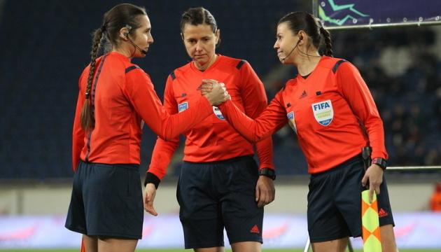 УЄФА відзначив роботу на євроарені арбітра з України Катерини Монзуль