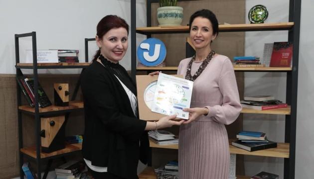 В Укрінформі нагородили переможницю другої фідбек-вікторини «Виграй тонку талію»