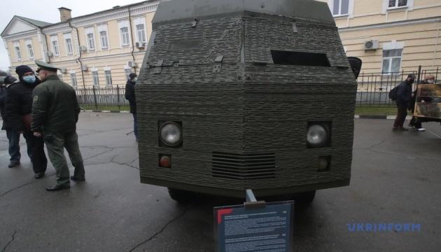 Прикордонники передали у музей бойовий автомобіль з позивним «Бронежаба»