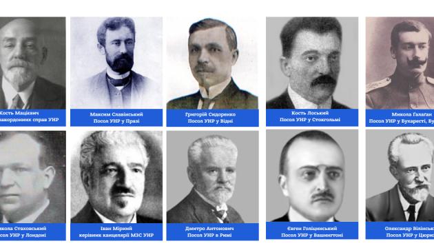 Український Посол у Чехії вшанував пам'ять дипломатів УНР