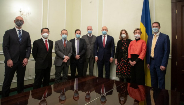 PM Shmyhal, G7 and EU Ambassadors discuss purchase COVID-19 vaccine