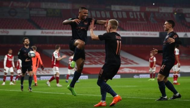 Пас Зинченко помог «Манчестер Сити» выйти в полуфинал Кубка английской лиги