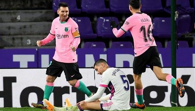 Ла Ліга: Мессі побив рекорд Пеле, «Барселона» обіграла «Вальядолід»