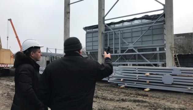 У Житомирі будують ТЕЦ, яка вдвічі зменшить викиди вуглецю котельнями