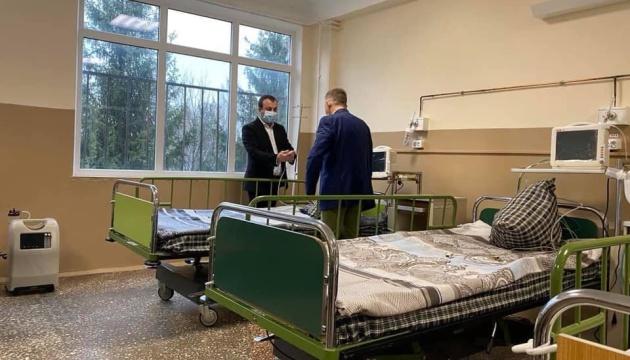 Вінницька обласна інфекційна лікарня почала прийом COVID-пацієнтів
