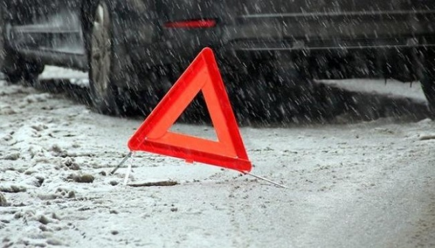 91 Verkehrsunfälle in Region Lwiw am Donnerstag