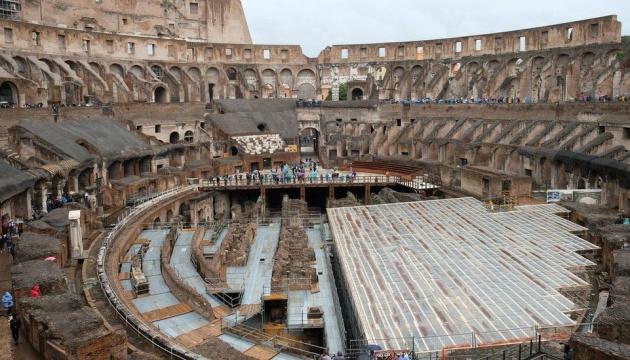 Підлогу Колізею реставрують - планують проводити концерти й спектаклі
